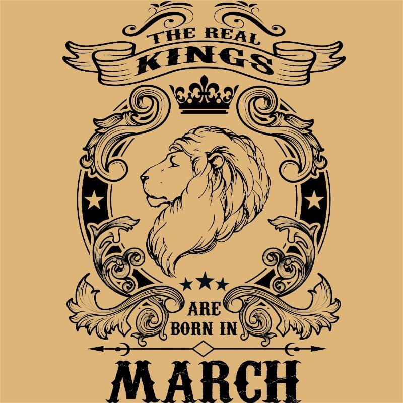 The real king lion march Póló - Ha Birthday rajongó ezeket a pólókat tuti imádni fogod!