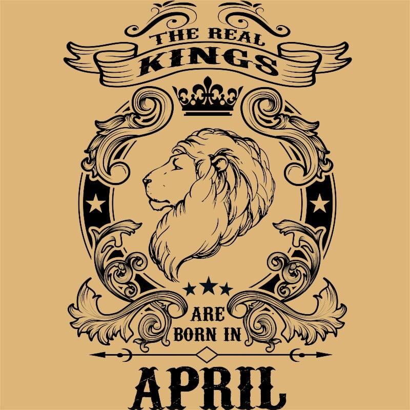 The real king lion april Póló - Ha Birthday rajongó ezeket a pólókat tuti imádni fogod!