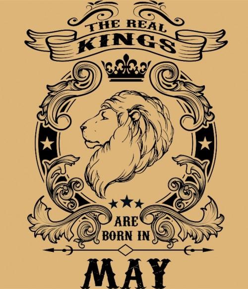 The real king lion may Póló - Ha Birthday rajongó ezeket a pólókat tuti imádni fogod!