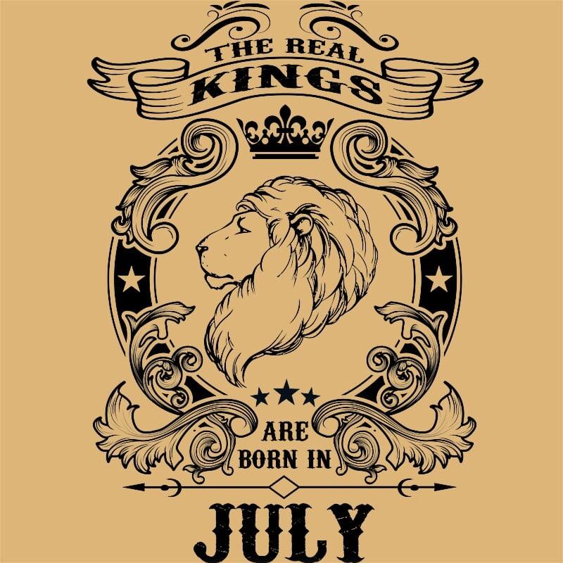 The real king lion july Póló - Ha Birthday rajongó ezeket a pólókat tuti imádni fogod!