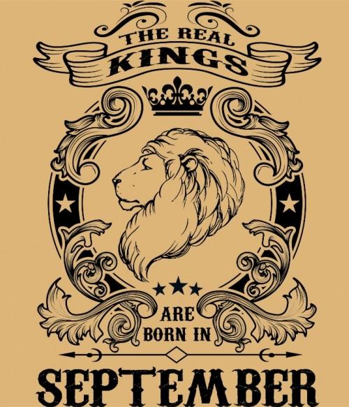 The real king lion september Póló - Ha Birthday rajongó ezeket a pólókat tuti imádni fogod!