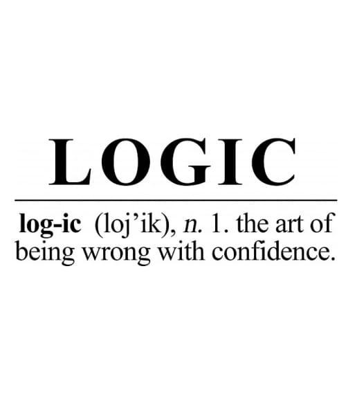 Logic word Póló - Ha Science rajongó ezeket a pólókat tuti imádni fogod!