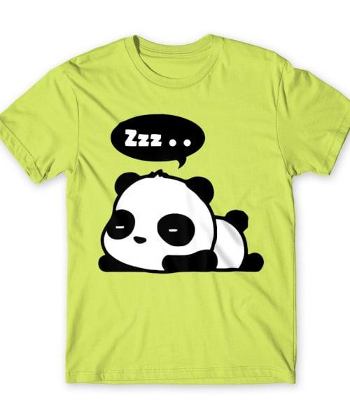 Sleepy Panda Póló - Ha Panda rajongó ezeket a pólókat tuti imádni fogod!