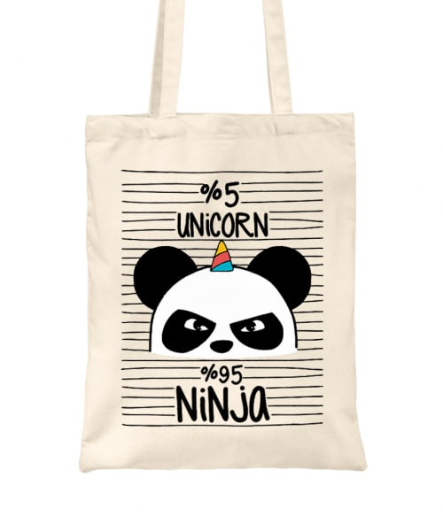 Unicorn Ninja Panda Póló - Ha Panda rajongó ezeket a pólókat tuti imádni fogod!