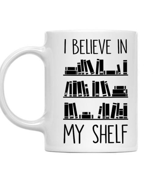 Believe in My Shelf Póló - Ha Reading rajongó ezeket a pólókat tuti imádni fogod!