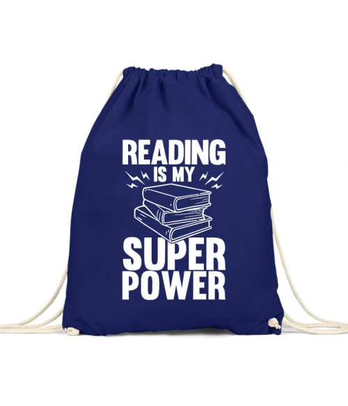 Reading is my super power Póló - Ha Reading rajongó ezeket a pólókat tuti imádni fogod!