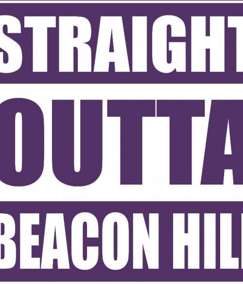 Straight Outta Beacon Hill Póló - Ha Teen Wolf rajongó ezeket a pólókat tuti imádni fogod!