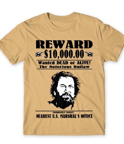 Bud Spencer körözés alatt Póló - Ha Bud Spencer rajongó ezeket a pólókat tuti imádni fogod!