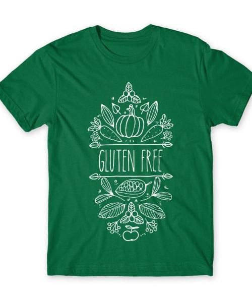 Gluten free veggie Póló - Ha Gluten Free rajongó ezeket a pólókat tuti imádni fogod!