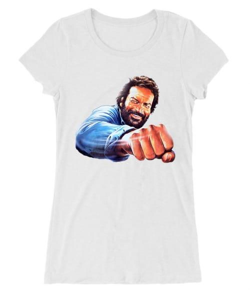 Bud Spencer pofon Póló - Ha Bud Spencer rajongó ezeket a pólókat tuti imádni fogod!