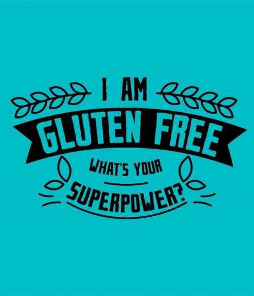 Gluten-free superpower Póló - Ha Gluten Free rajongó ezeket a pólókat tuti imádni fogod!