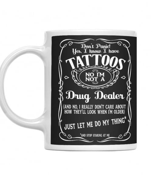 Don't panic tattoo Póló - Ha Tattoo rajongó ezeket a pólókat tuti imádni fogod!