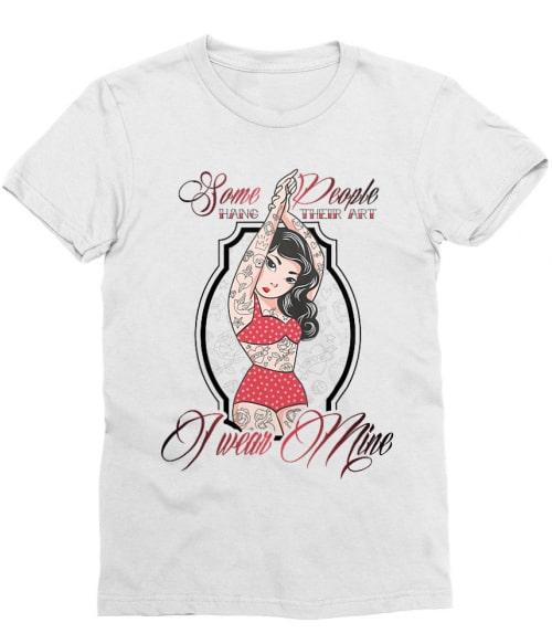 Pinup tattoo Póló - Ha Tattoo rajongó ezeket a pólókat tuti imádni fogod!