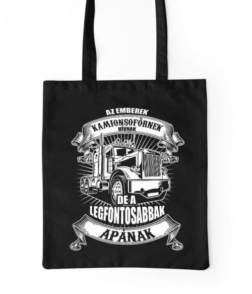 Kamionsofőr apa Póló - Ha Truck Driver rajongó ezeket a pólókat tuti imádni fogod!