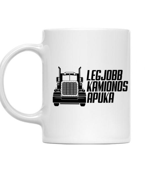 A legjobb kamionos apuka Póló - Ha Truck Driver rajongó ezeket a pólókat tuti imádni fogod!