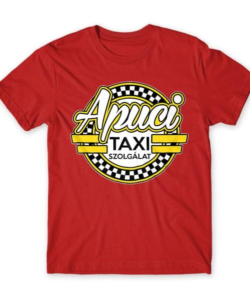 Apuci Taxi szolgálat Póló - Ha Taxi Driver rajongó ezeket a pólókat tuti imádni fogod!