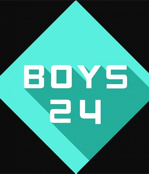 Boys24 Logo Póló - Ha K-Pop rajongó ezeket a pólókat tuti imádni fogod!