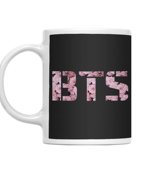 BTS Flower Logo Póló - Ha K-Pop rajongó ezeket a pólókat tuti imádni fogod!