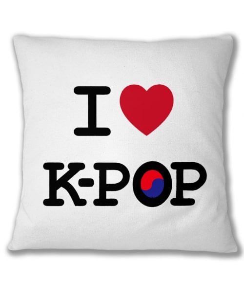 I Love K-Pop Póló - Ha K-Pop rajongó ezeket a pólókat tuti imádni fogod!