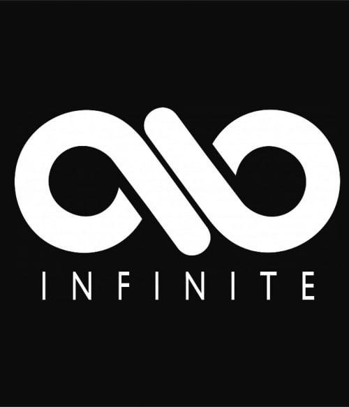 Infinite Logo Póló - Ha K-Pop rajongó ezeket a pólókat tuti imádni fogod!
