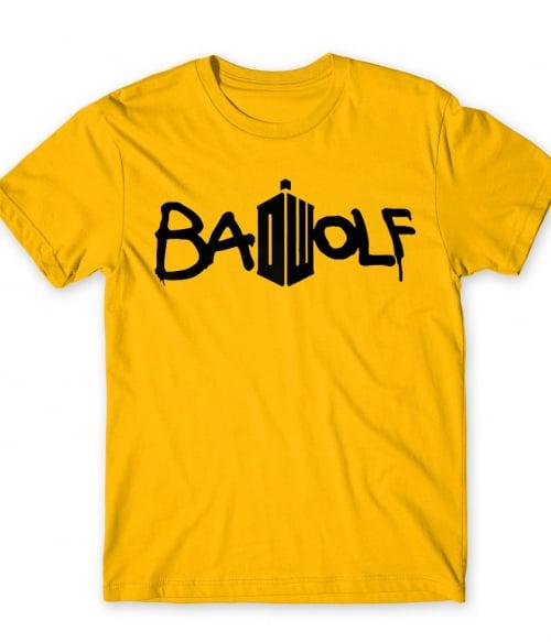BadWolf Póló - Ha Doctor Who rajongó ezeket a pólókat tuti imádni fogod!