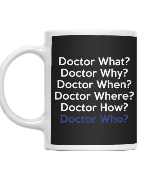Dr. What Póló - Ha Doctor Who rajongó ezeket a pólókat tuti imádni fogod!
