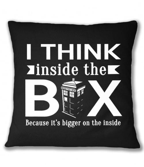 I think inside the box Póló - Ha Doctor Who rajongó ezeket a pólókat tuti imádni fogod!