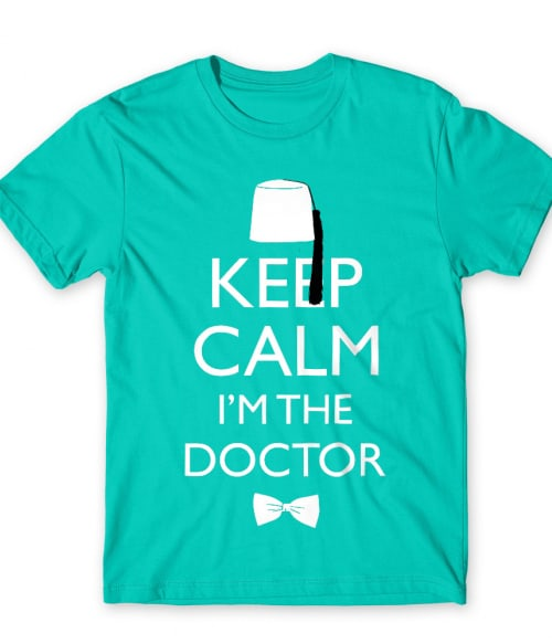 Keep calm Dr. Who Póló - Ha Doctor Who rajongó ezeket a pólókat tuti imádni fogod!