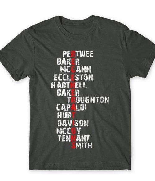 Regenerations Póló - Ha Doctor Who rajongó ezeket a pólókat tuti imádni fogod!
