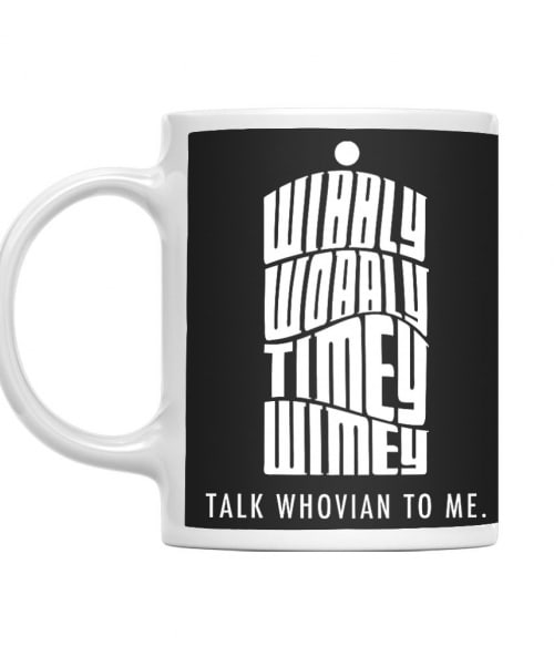 Talk whovian to me Póló - Ha Doctor Who rajongó ezeket a pólókat tuti imádni fogod!