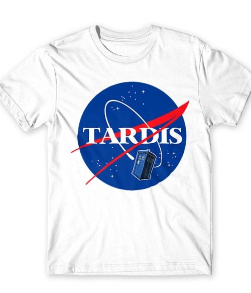 Tardis Nasa logo Póló - Ha Doctor Who rajongó ezeket a pólókat tuti imádni fogod!