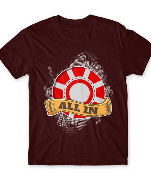 All in Póló - Ha Poker rajongó ezeket a pólókat tuti imádni fogod!