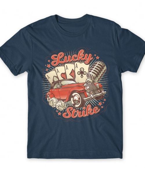 Luckey strike Póló - Ha Poker rajongó ezeket a pólókat tuti imádni fogod!