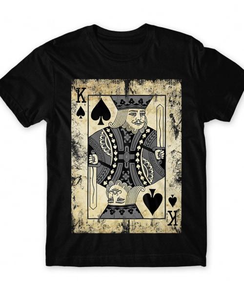 Playing card king Póló - Ha Poker rajongó ezeket a pólókat tuti imádni fogod!