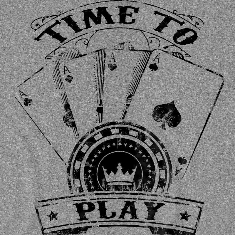 Time to play Póló - Ha Poker rajongó ezeket a pólókat tuti imádni fogod!