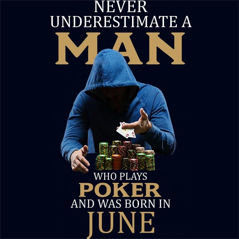 Poker man June Póló - Ha Birthday rajongó ezeket a pólókat tuti imádni fogod!