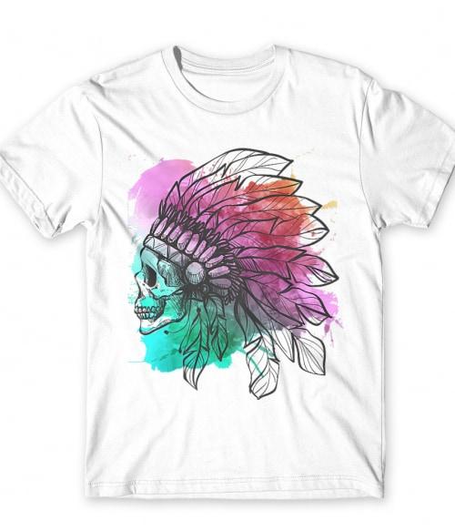 Indian skull Póló - Ha Skulls rajongó ezeket a pólókat tuti imádni fogod!