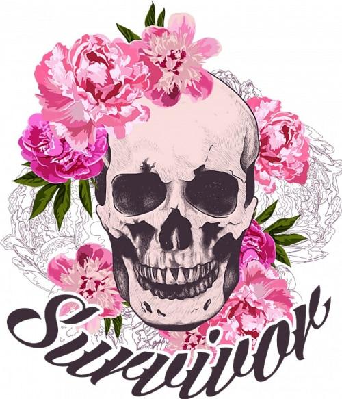 Survivor skull Póló - Ha Skulls rajongó ezeket a pólókat tuti imádni fogod!