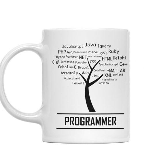 Programmer tree Póló - Ha Programming rajongó ezeket a pólókat tuti imádni fogod!
