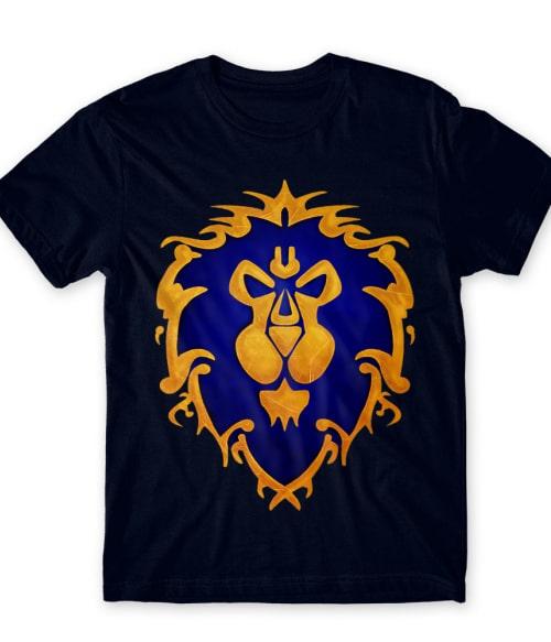 Alliance Logo Póló - Ha World of Warcraft rajongó ezeket a pólókat tuti imádni fogod!