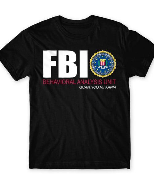 Behavioral Analysis Unit Póló - Ha Criminal Minds rajongó ezeket a pólókat tuti imádni fogod!