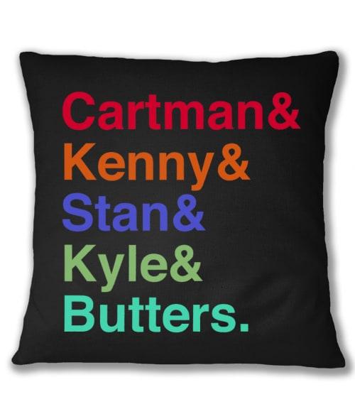 Cartman Kenny Stan Kyle Butters Póló - Ha South Park rajongó ezeket a pólókat tuti imádni fogod!