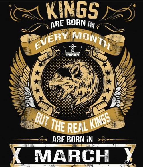 The Real Kings March Póló - Ha Birthday rajongó ezeket a pólókat tuti imádni fogod!