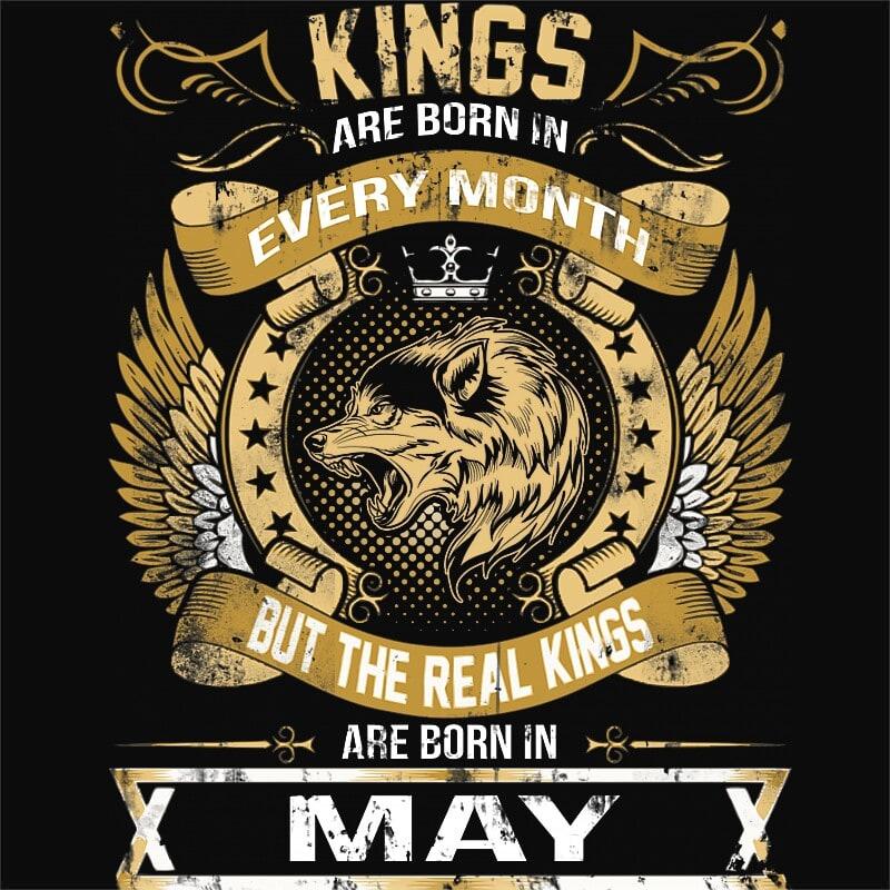 The Real Kings May Póló - Ha Birthday rajongó ezeket a pólókat tuti imádni fogod!