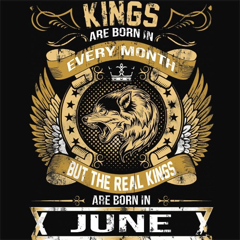 The Real Kings June Póló - Ha Birthday rajongó ezeket a pólókat tuti imádni fogod!