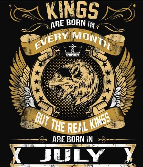The Real Kings July Póló - Ha Birthday rajongó ezeket a pólókat tuti imádni fogod!