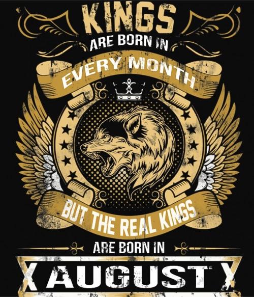 The Real Kings August Póló - Ha Birthday rajongó ezeket a pólókat tuti imádni fogod!
