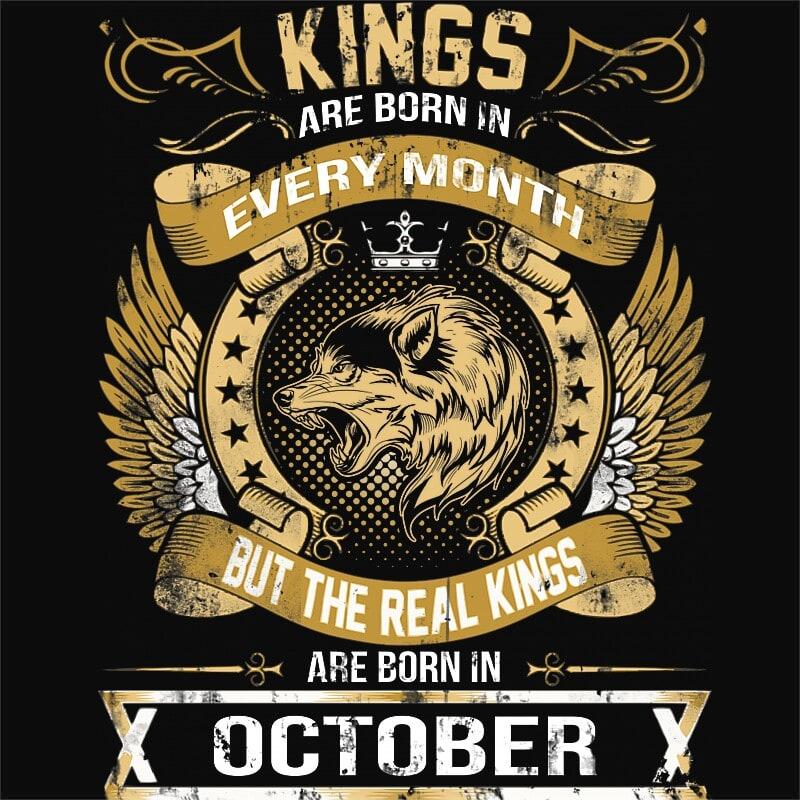 The Real Kings October Póló - Ha Birthday rajongó ezeket a pólókat tuti imádni fogod!