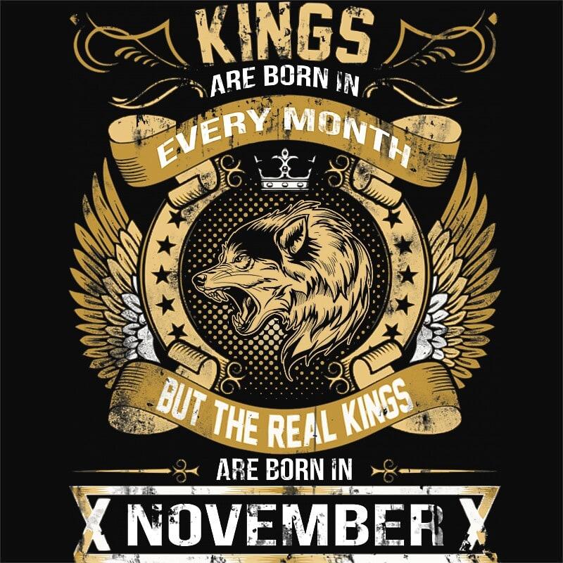 The Real Kings November Póló - Ha Birthday rajongó ezeket a pólókat tuti imádni fogod!