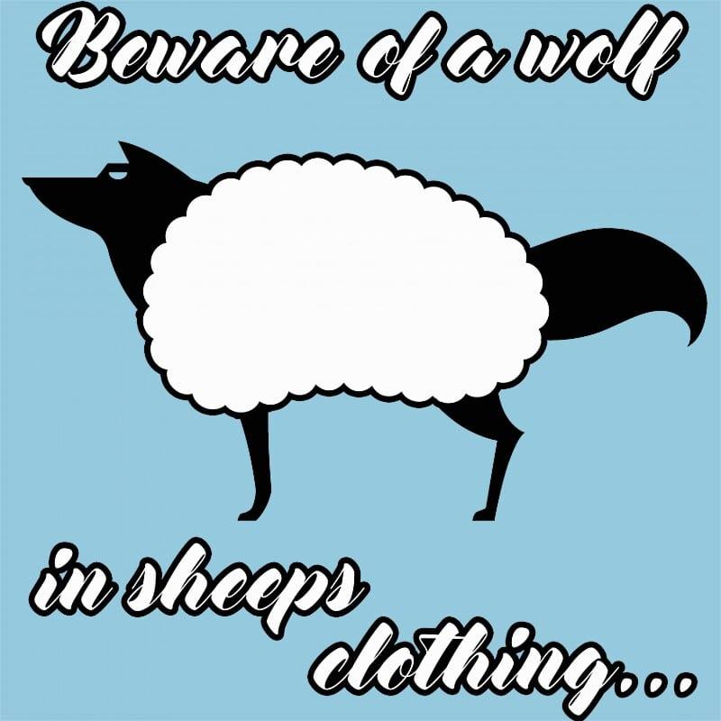 Beware of a wolf Póló - Ha Wolf rajongó ezeket a pólókat tuti imádni fogod!